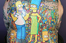 Man with over 200 tattoos of The Simpsons characters confirmed as record holder