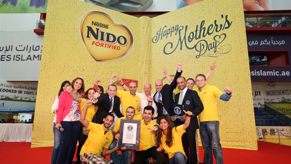 Record-breaking Mother's Day 2014 gifts