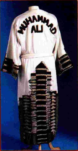 Muhammad Ali robe most expensive boxing memorabilia