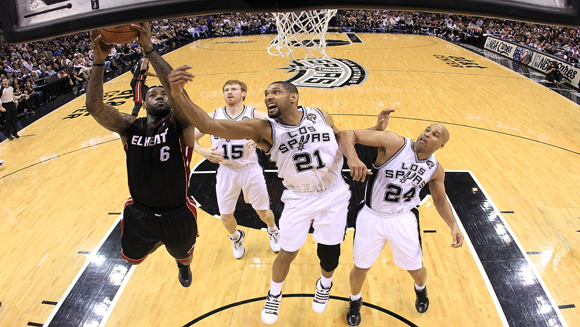 LeBron James takes on Tim Duncan: NBA Finals Preview