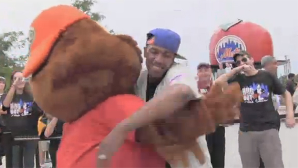 Video: Nick Cannon misses out on hugging world record