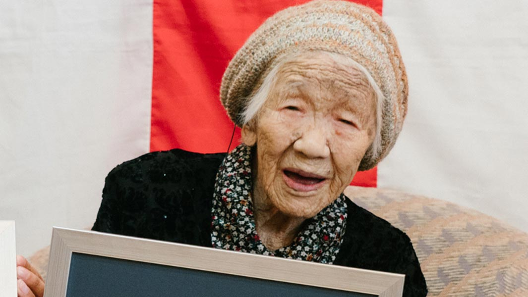 The world's oldest person, 116-year-old Kane Tanaka, was announced on 9 March 2019