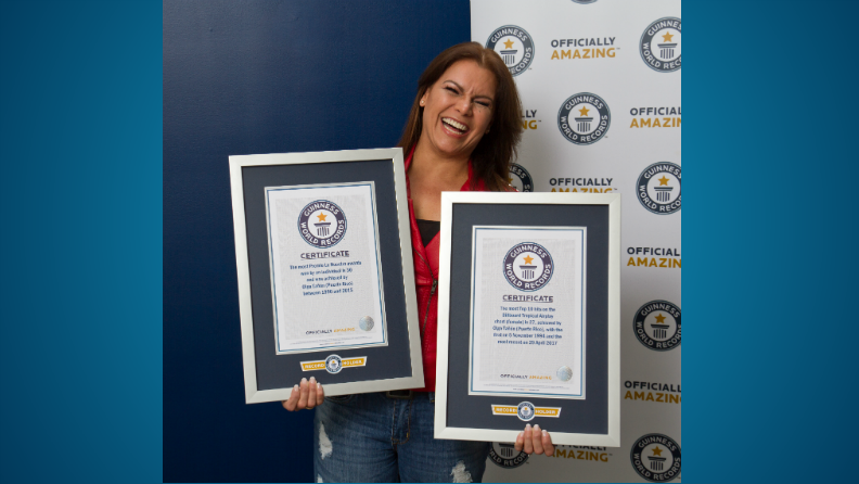 Guinness World Records honours Latin music icon Olga Tanon for her hit career