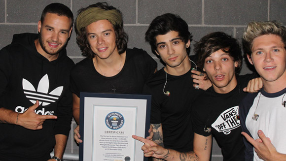 One Direction find place in Guinness World Records 2015 book with historic first three albums
