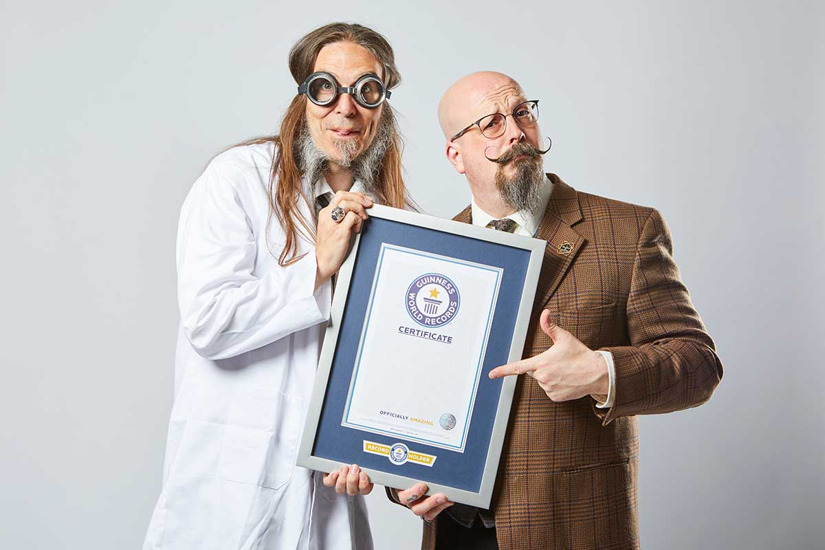 Orbax and Pepper with GWR certificate