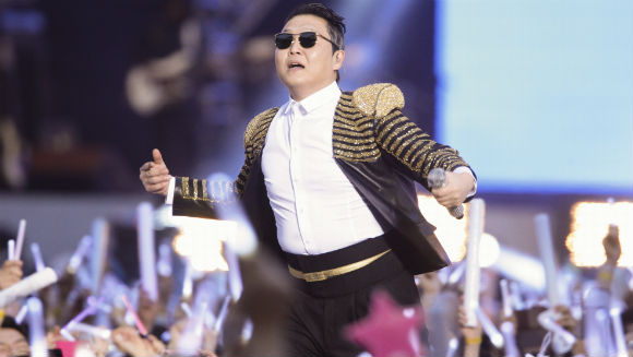 "PSY secures new YouTube world record with ""Gentleman"""