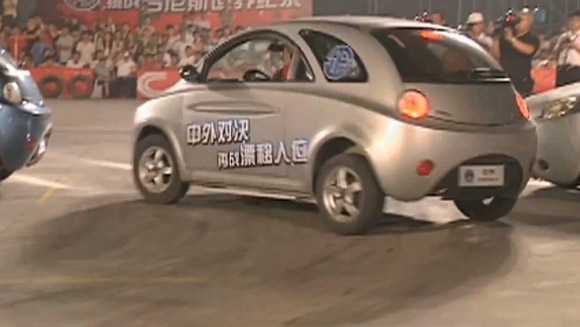 Video of the Week: Tightest parallel parking record broken on Chinese TV show