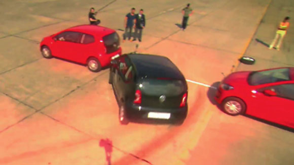 Video: Tightest parallel parking record falls yet again!