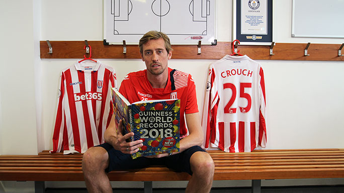 Peter Crouch GWR 2018