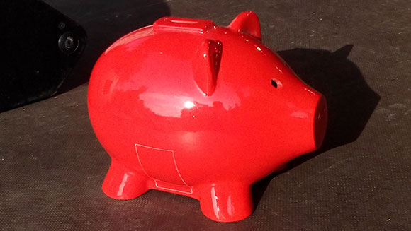 Kreissparkasse Ludwigsburg go the whole hog with world's largest piggy bank