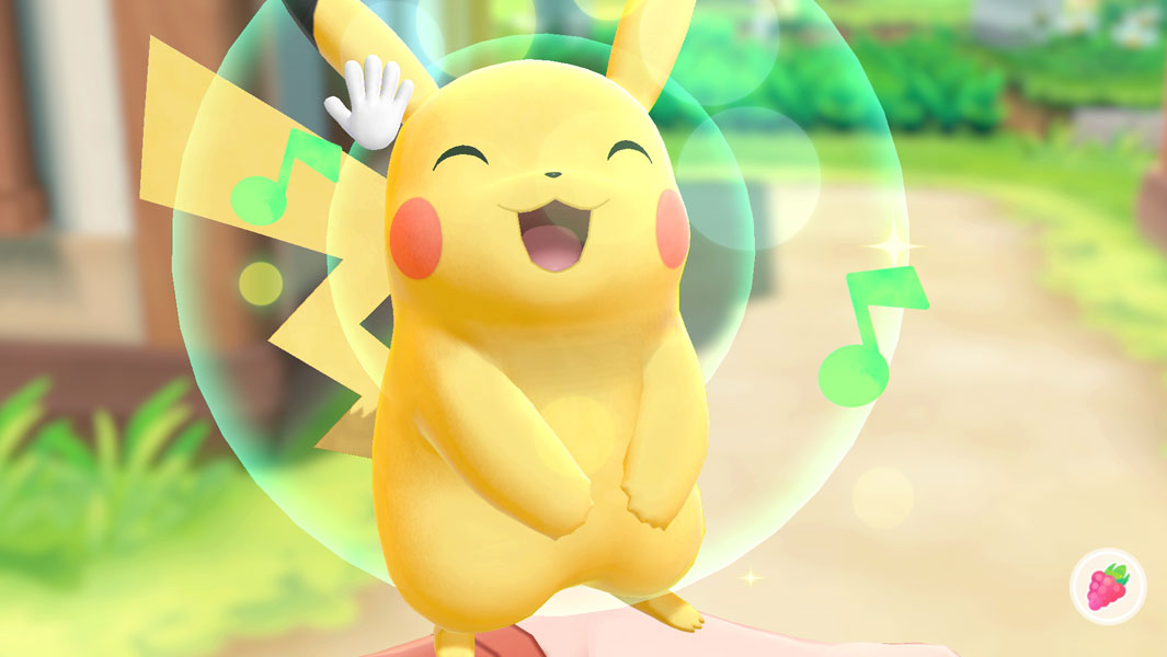 Pikachu in Pokémon: Let's Go, Pikachu! and Let's Go, Eevee!