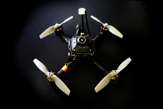 Fastest ground speed by a battery-powered remote-controlled quadcopter