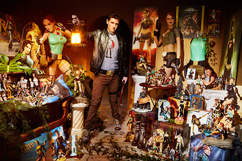Record Holder Profile Video: Rodrigo Martin Santos and the world's largest Tomb Raider Memorabilia collection