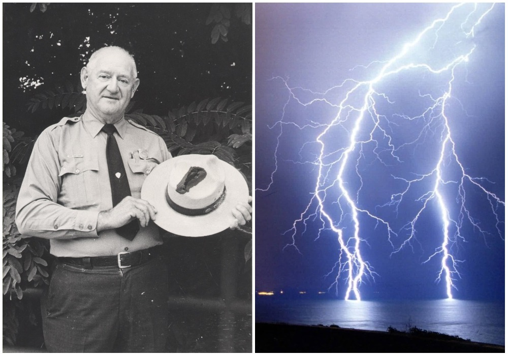 Roy Sullivan lightning
