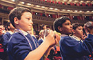 Video: Schoolchildren smash samba band world record at Royal Albert Hall