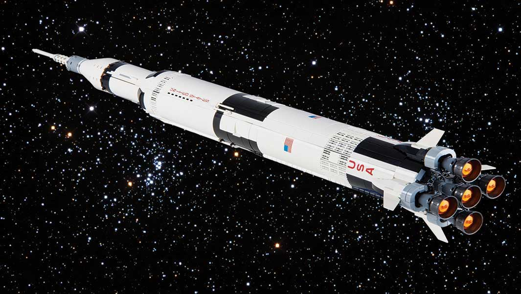 win the lego saturn v rocket from guinness world records 2019