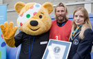 Video: Robbie Savage beats Alan Shearer to seat-sitting record at Wembley Stadium for Sport Relief