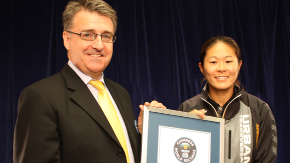 Japan's Women's World Cup hero Homare Sawa scores two Guinness World Records
