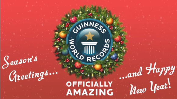 Merry Christmas from Guinness World Records!
