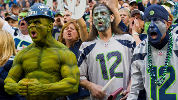 Seattle Seahawks fans 'cause minor earthquake' with world record crowd roar