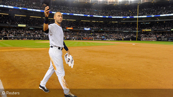 Derek Jeter retires and highlights the September Guinness World Records sports blog