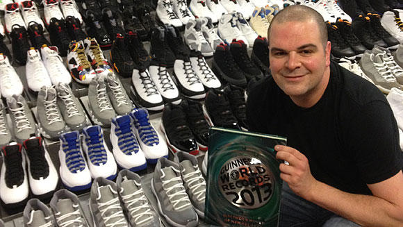official photos dfc82 0e18d Jordy Geller and the world s largest collection of sneakers - video