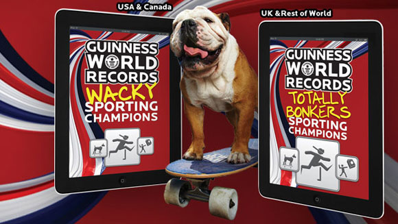 Guinness World Records honours the alternative sporting champions in new eBook
