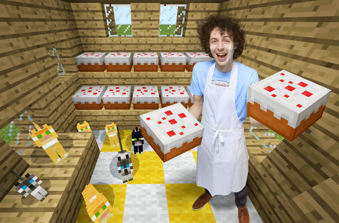 StampyCat - Fastest Time to Make 10 Cakes - article 2