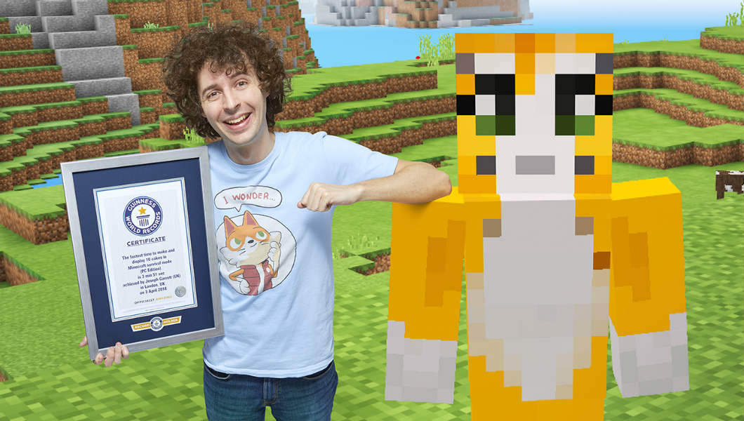 YouTube Star Stampy Cat Sets New Minecraft Record For Gamers Edition 2019