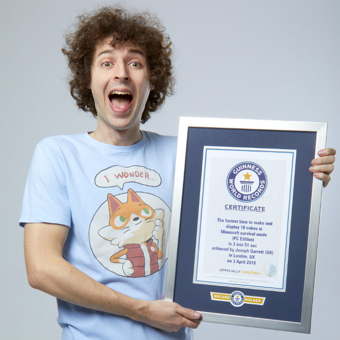StampyCat - Fastest Time to Make 10 Cakes-3