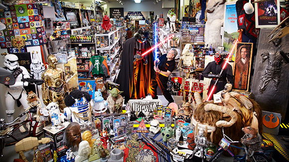 Video: The world's largest collection of Star Wars memorabilia