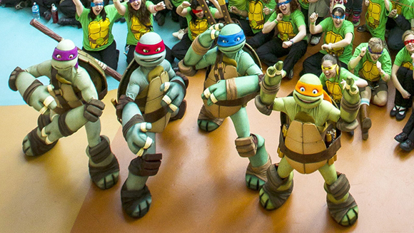 Nickelodeon hotel attempting Ninja Turtles gathering record this weekend for release of TMNT