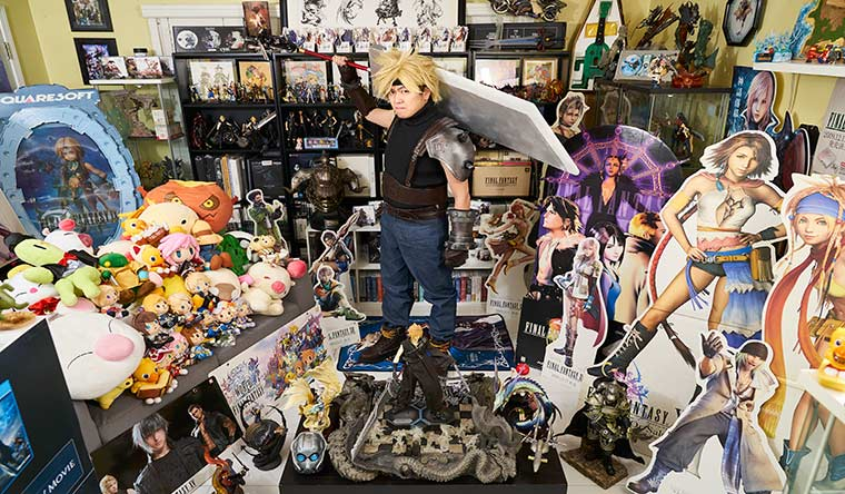 Largest collection of Final Fantasy memorabilia