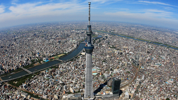 'Sky Tree' - the world's tallest tower opens in Japan