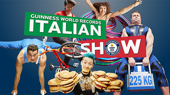 Guinness World Records Italian Show – the new extraordinary video series on GWR's YouTube channel