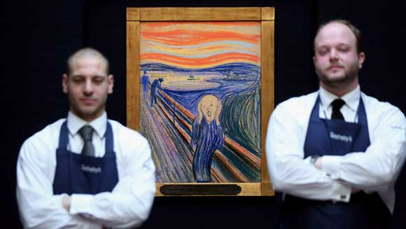 Edvard Munch's The Scream fetches world record price at auction