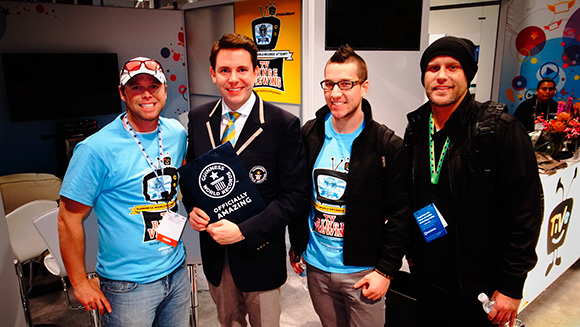 Video: TV watching marathon world record set on TiVo stand at CES 2014