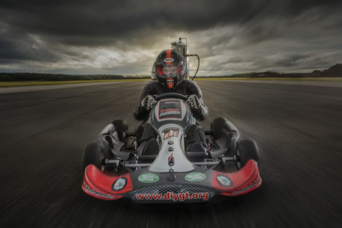 Tom Bagnall - Fastest Jet Powered Go Kart 1