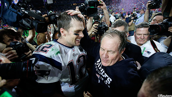 Super Bowl XLIX: How Brady, Belichick and Katy Perry's shark ensured the records tumbled
