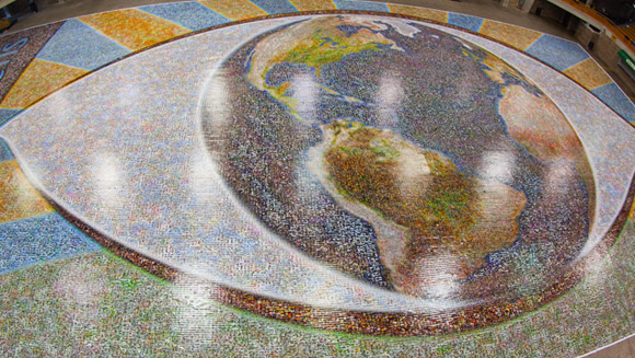 Largest photo mosaic comes into focus with over 176,000 photos