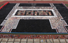Largest trouser mosaic created in China