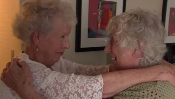 Longest separated twins finally meet after 78 years apart