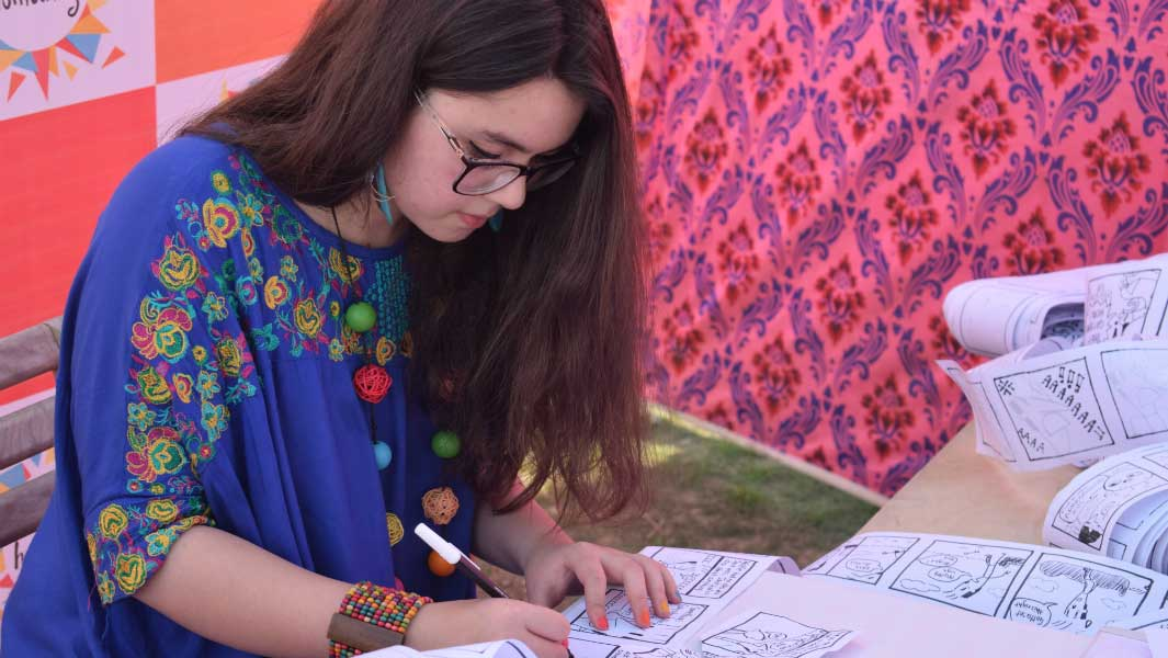 Monday Motivation: The Pakistani cartoonist hoping to empower women with her art