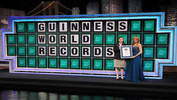 Guinness book of world records, Vanna White, achievements