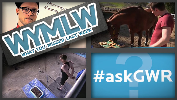 WYMLW: Jumping Into Marshmallows, #AskGWR, and the World's Smartest Horse?!