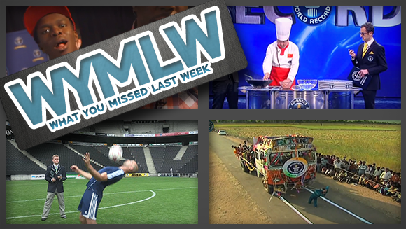 WYMLW: Speedy Meatballs, Tricky Footballs & Geek Week!