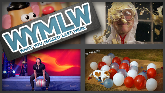 WYMLW: Beer kegs, Potato Heads and a pie to the face...