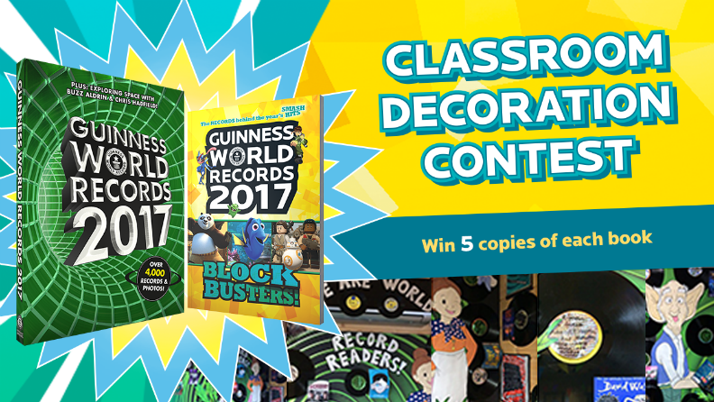 Guinness World Records' 2017 Classroom Decoration Contest