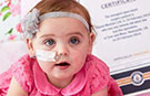 Youngest ever open heart surgery: Baby Chanel survived operation at just one minute old