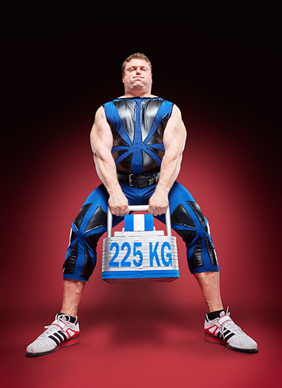 Zydrunas Savickas Fastest Power Stairs